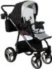 Коляска Adamex Reggio Special Edition 2 в 1 Y818 прогулочный блок без чехла на ножки