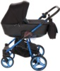 Коляска Adamex Reggio Special Edition 2 в 1 Y301 спальная люлька для младенцев, вид сбоку