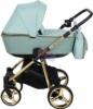 Коляска Adamex Reggio Special Edition 2 в 1 Y851 спальная люлька для новорожденных, вид сбоку
