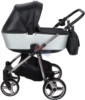 Коляска Adamex Reggio Special Edition 2 в 1 Y838 люлька для младенцев, вид сбоку