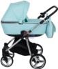 Коляска Adamex Reggio Special Edition 2 в 1 Y848 люлька для новорожденных, вид сбоку