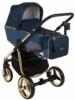 Коляска Adamex Reggio Special Edition Lux 3 в 1 Y807-A синий