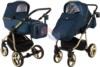 Коляска Adamex Reggio Special Edition Lux 2 в 1 Y807-A синий