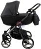 Коляска Adamex Reggio Special Edition 2 в 1 Y98 спальная люлька для новорожденных, вид сбоку