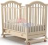Детская кроватка Nuovita Perla Dondolo Avario / Слоновая кость