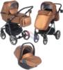 Коляска Adamex Reggio Special Edition 3 в 1 Y230 бронзовый