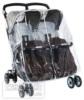 Дождевик Peg-Perego Rain Cover на прогулочную коляску для двойни Aria Twin